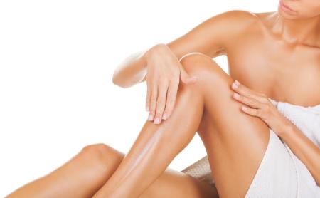 crema coprente gambe